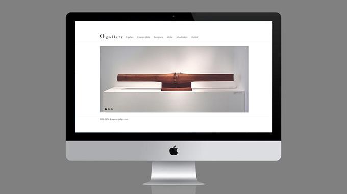 O-gallery.com网站建设